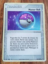 Carte Pokémon MASTER BALL 88/107 EX Deoxys VF