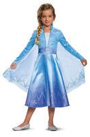 Deluxe Elsa Child Costume NEW Frozen 2