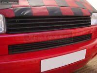 no logo grill for VW T4 Front black badgeless debadged grille bus bulli van