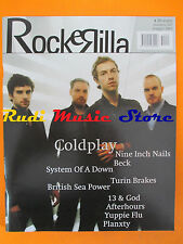 rivista ROCKERILLA 297/2005 Coldplay Beck Garbage Afterhours Yuppie Flu * No cd