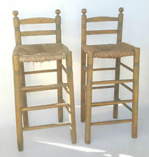 Wooden Farmhouse Chairs 2 Pieces