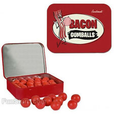 Bacon Gumballs- Bacon Flavored Gum- Fun Flavored Chewing Gum- NEW