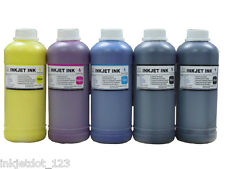 5x500ml Color Pigment refill ink for Epson 7600 Stylus Pro 9600 C/M/Y/LC/LM