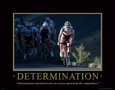 Bicycle Motivational Poster Art Print Mountain Road Bike Helmet Shorts MVP132