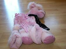 Toddler Size 2-4 Pink Standard Poodle Puppy Dog Rider Halloween Costume EUC