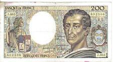FRANCE, 200 FRANCS  , 1989