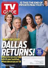 DALLAS RETURNS Jesse Metcalfe TV GUIDE MAGAZINE June 11-17, 2012 C-2-3
