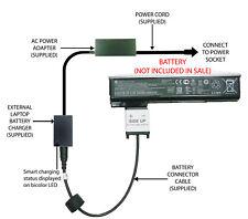 External Laptop Battery Charger for HP ProBook 640/645/650/655 G0/G1, CA06, CA09