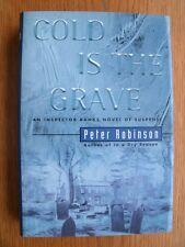 Peter Robinson Cold is the Grave 1st Canadian Ed SIGNED HC Fine