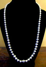 "26""  GRADUATED NAVAJO PEARLS  STERLING NECKLACE BEADS  BEST BUY ON EBAY!"