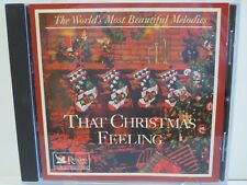 READERS DIGEST ~ THAT CHRISTMAS FEELING ~ 1998 ~ LIKE NEW CD