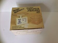 Weight Watchers Weights And Measures Kit, Vintage