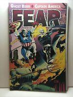 Ghost Rider / Captain America:   Fear  (TPB) - October 1992 - Marvel Comics VF+