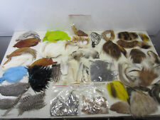 Vintage Fly Tying Materials - Wings, Feathers & Furs