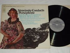 STRAVINSKY CONDUCTS PERSEPHONE (1966) Stereo COLUMBIA LP