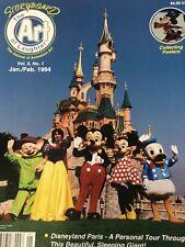 Storyboard Magazine, The Journal of Animation. Jan Feb 1994. Disneyland Paris.