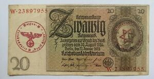 Germany 🇩🇪  Genuine Banknote, Hundert Mark, 20 REICHSMARK