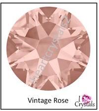 VINTAGE ROSE Pink Swarovski 20ss 5mm 2088 Xirius Flatbacks Rhinestones 144 pcs