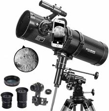 Telescope, Polaris 130EQ Newtonian Professional Astronomical Reflector