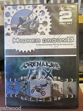 Extreme 2 Disc Set - Higher Ground / Adrenaline Fix (DVD, 2005), NEW, Motocross