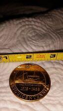 1968 Sandusky Area Ohio Token Commemorative Sesquicentennial Cedar Point Coin OH