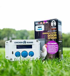 ChickenGuard ASTx Extreme Automatic Chicken Coop Door Opener - Heavy Duty Opener