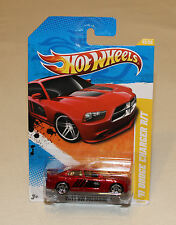 2011 Hot Wheels HW Premiere #43 2011 Dodge Charger R/T Red New