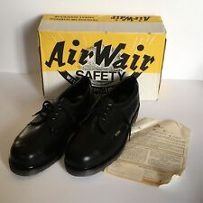 DR. MARTENS AIR WEAR SAFETY SHOES. SIZE 9