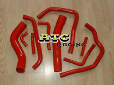 For TOYOTA LANDCRUISER HDJ80 1990-1997 91 92 93 94 Silicone Radiator&Heater Hose