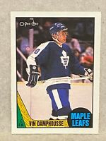 1987-88 O-pee-chee OPC Vin Damphousse Rookie Card RC #243