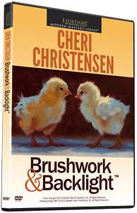 CHERI CHRISTENSEN: BRUSHWORK & BACKLIGHT - Art Instruction DVD