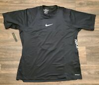 Nike Pro Aeroadapt Short Sleeve Training Top BV5510-010 Men's Extra Large $50