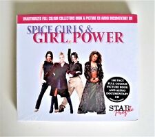 NEW 1999 MINT: THE SPICE GIRLS COLLECTORS BOOK & PICTURE CD AUIDO DOCUMENTARY