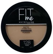 Maybelline Fit Me Matte + Poreless Pressed Powder Foundation 128 NUDE