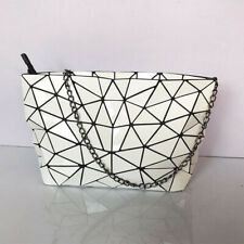 Women Ladies Geometric White Shoulder Messenger Crossbody Purse Bag Handbag