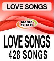428 Love Song Selections Entertech Magic Sing Karaoke Mic Song Chip Leadsinger