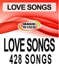 428 Love Song Selections Entertech Magic Sing Karaoke Mic Song Chip Leadsinger