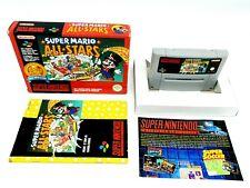 Super Nintendo Super Mario All Stars Classic Complete [FAH] SNES ►RARE VERSION◄