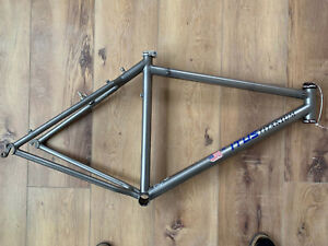 "Titus 26"" Titanium Mountain Bike, Medium Chris King, Excellent Condition Vintage"