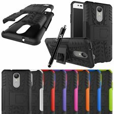 For LG K4 2017 Phone Case Heavy Duty Armor Shockproof Stand Hybrid Back Cover