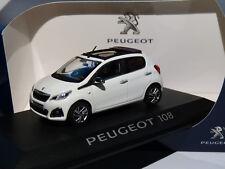 Peugeot 108 anno di costruzione 2014 Bianco 1 43 Norev