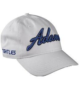 NWT Adams Golf Hat White Tightlies 50+ UPF UV