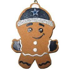 Dallas Cowboys Gingerbread Man Christmas Tree Ornament NEW - RGB13