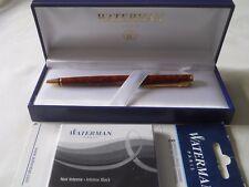Waterman Preface Ballpoint Pen w/ box & 8 L Standard Cartridges