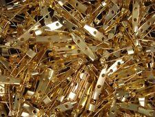 Brooch Backs 25mm Gold 25pc Jewellery DIY Jewelry Pin Craft Fashion FREE POSTAGE