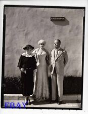 Mae West Paramount lot Photo from Original Negative candid