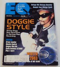 SNOOP DOGG DOGGIE STYLE COVER  2003 EQ Professional Recording & Sound Magazine