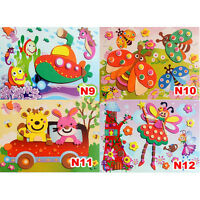 3D DIY EVA Crafts Foam Puzzle Stickers for Toy Art Gift f Kids Pattern Random JC