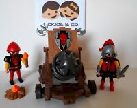 PlaymobiL Knights / Chevaliers Dragon Rouge + Gros Canon du set 3320  #177