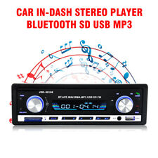 Car In-dash Stereo Player Radio Bluetooth SD USB MP3 FM Receiver AUX Input Audio